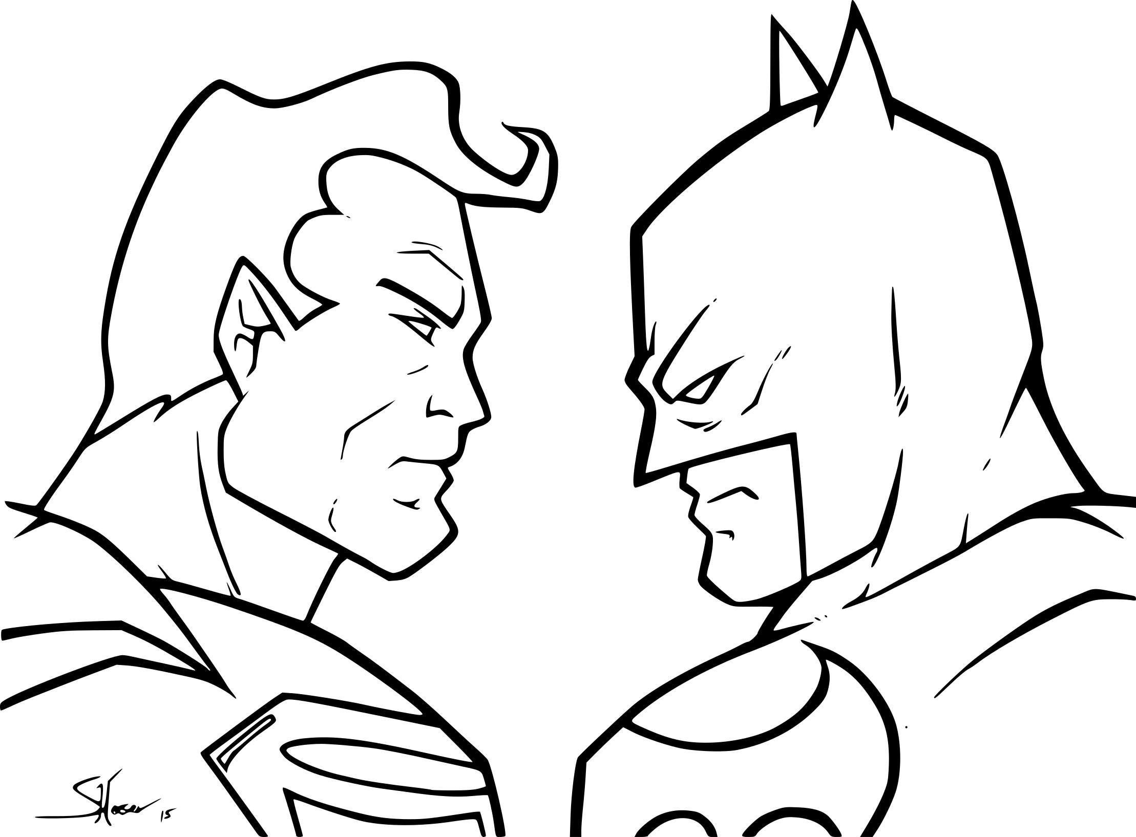 Coloriage à Imprimer Batman - Coloriage Imprimer