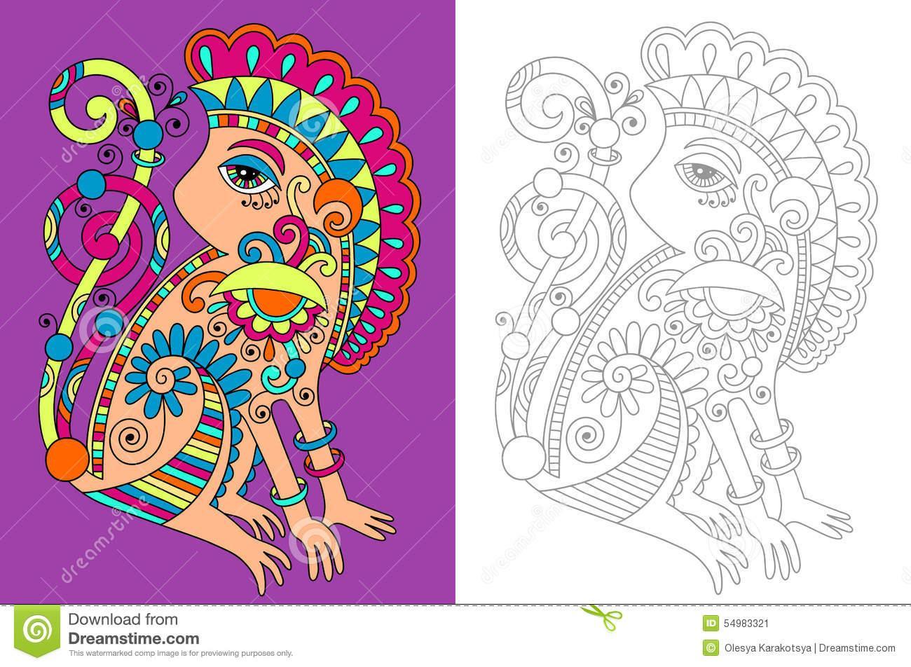 Coloriage à Imprimer Avec Modèle - Coloriage Imprimer