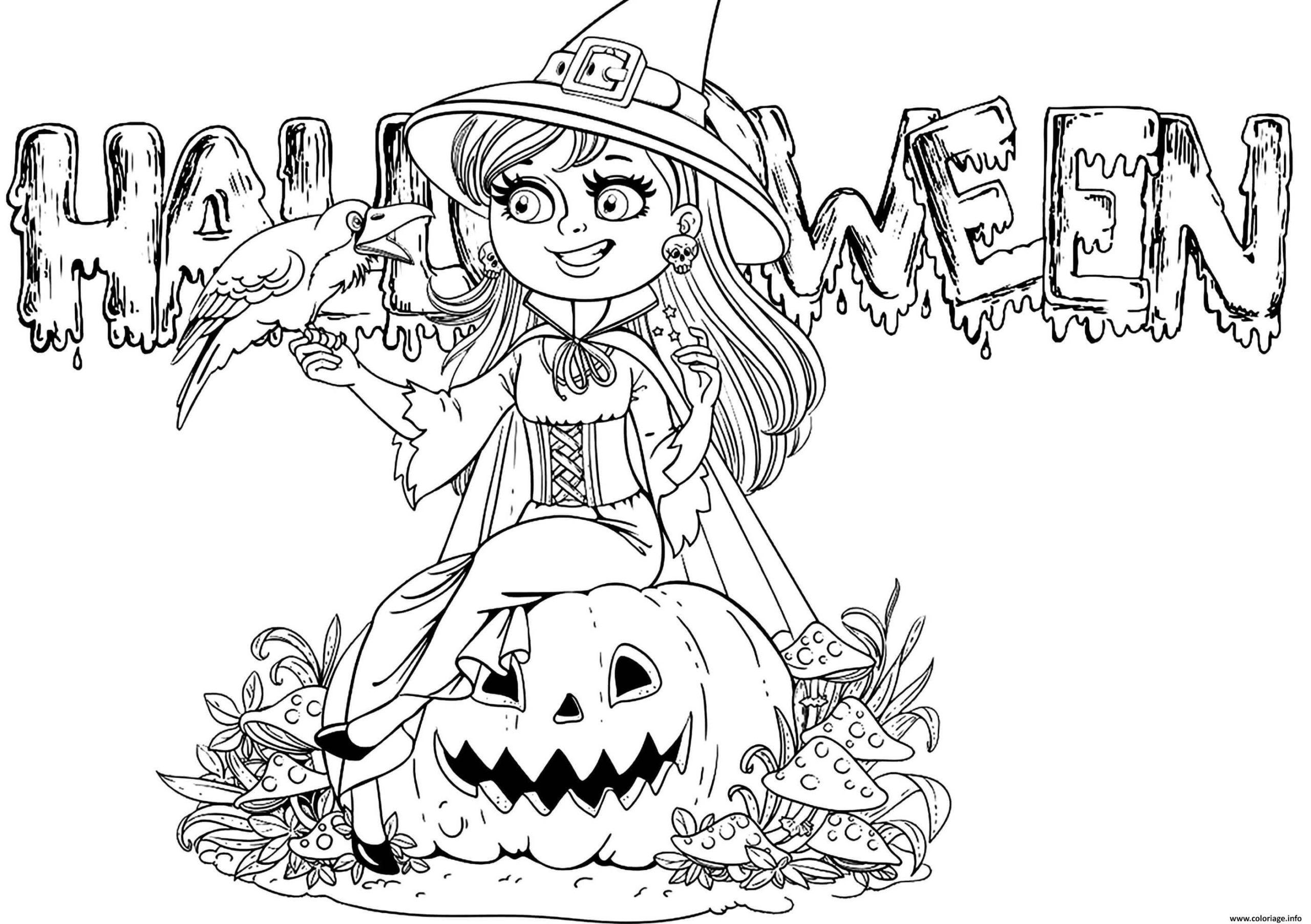 Coloriage A Imprimer Gratuit Halloween Coloriage Imprimer