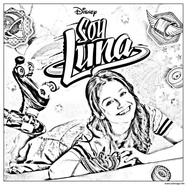 Coloriage Soy Luna 19 Dessin Soy Luna à imprimer