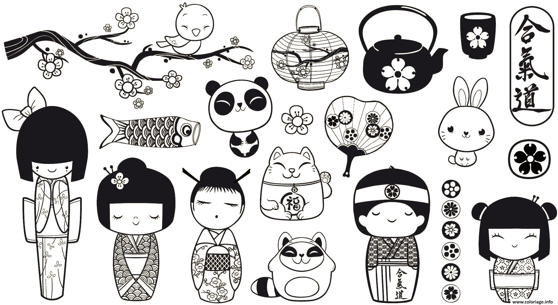 Coloriage Adulte Panda Monde Asiatique Asie Et Sa Richesse
