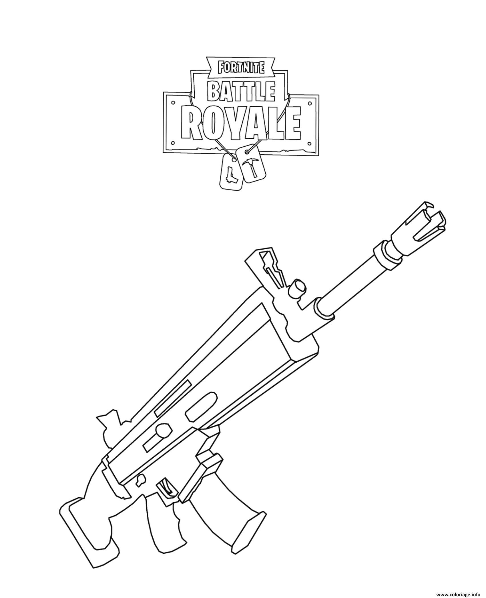 Easy Draw Fortnite Battle Royale Logo