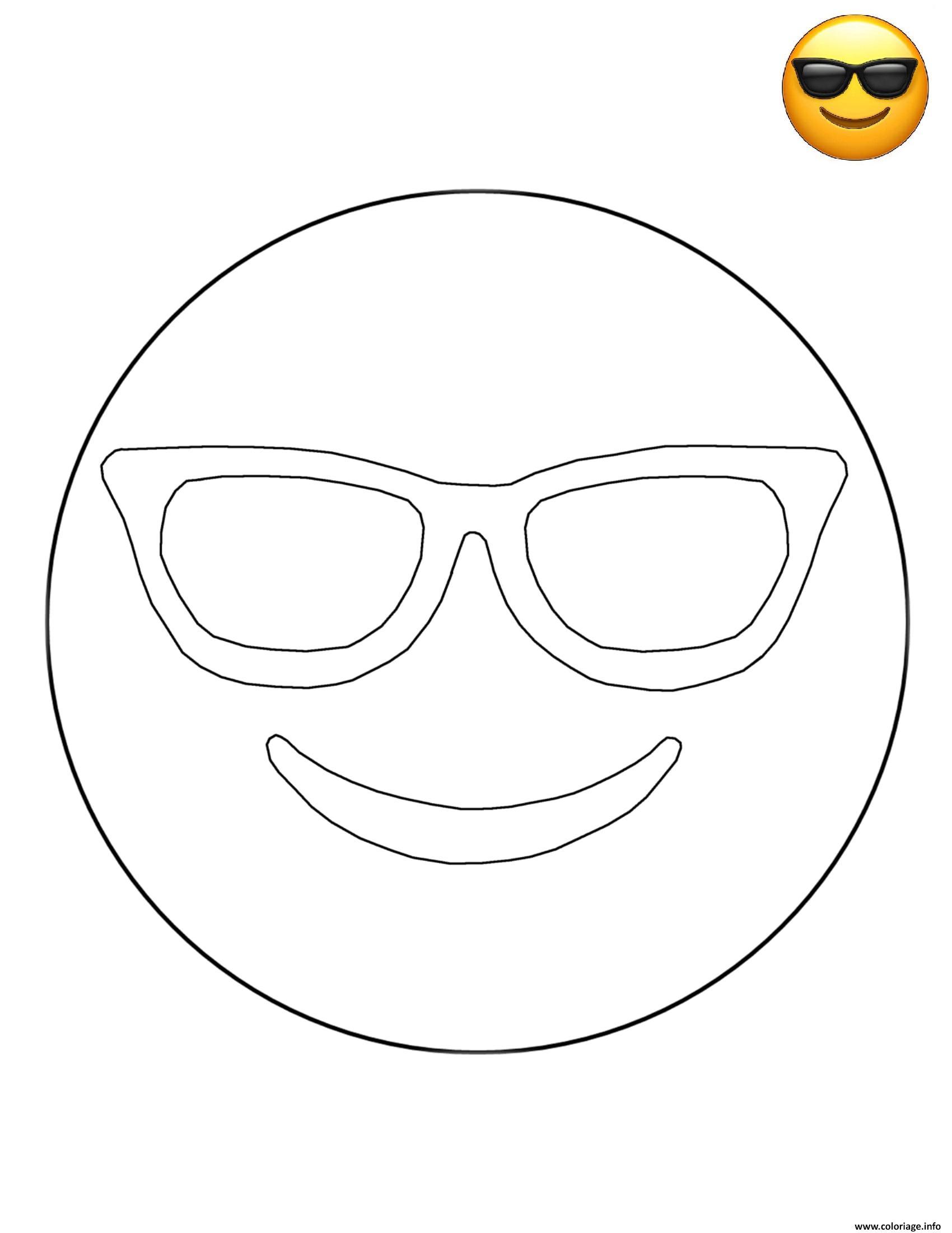 Vol Melon Roman Coloriage Emoji Lunette De Soleil Vendeur Reptiles Fils