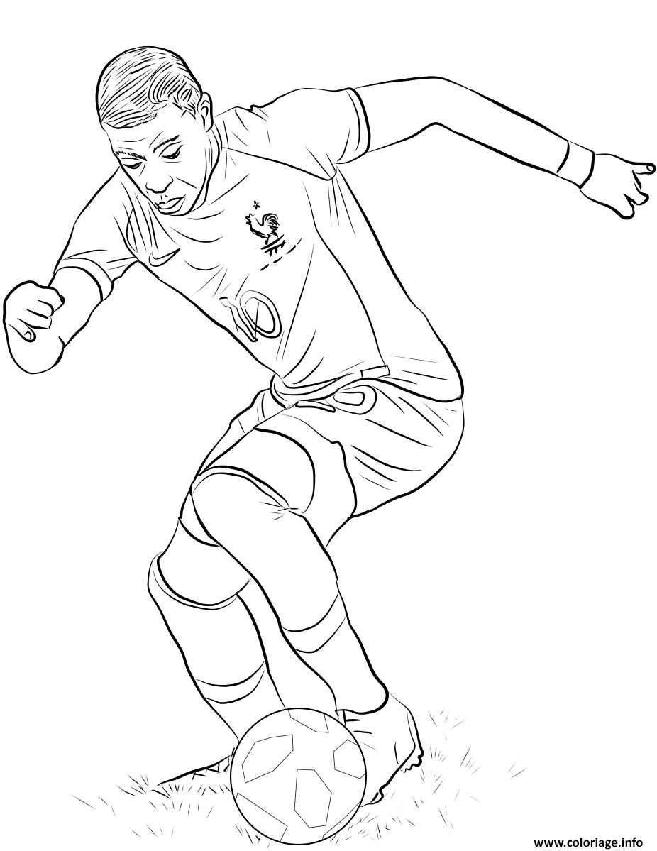 Dybala Juventus Coloring Page