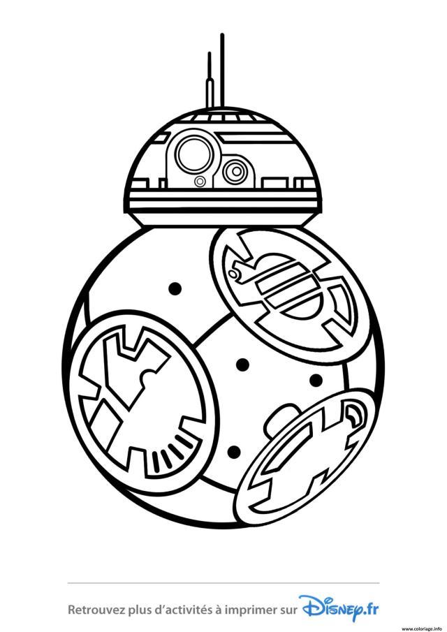 Coloriage Star Wars Bb24 Disney 24 Dessin Star Wars à imprimer