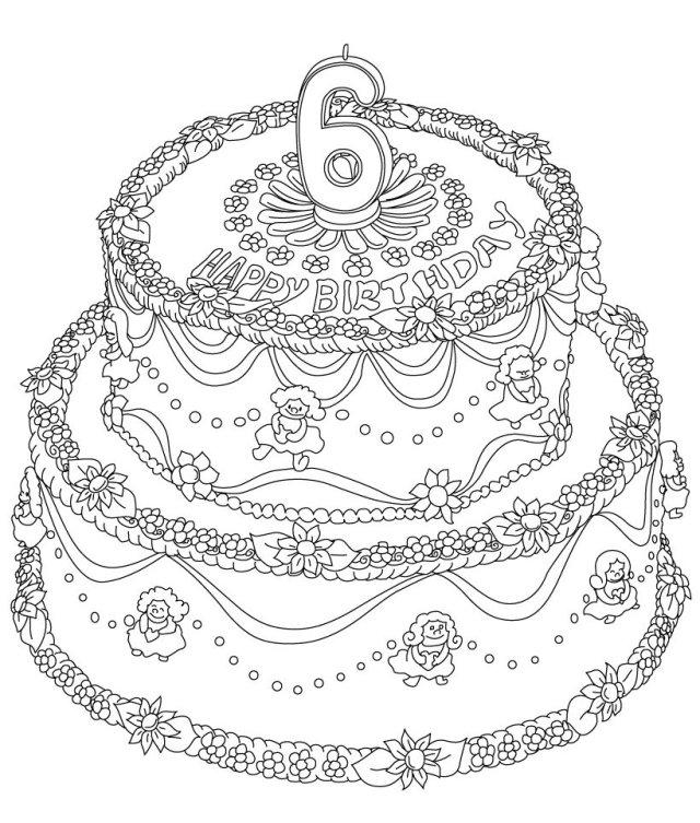Coloriage Joyeux anniversaire 15 ans