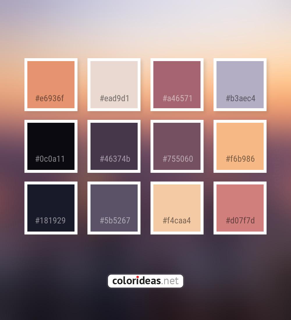 Dark Salmon | Color palette ideas - Part 5