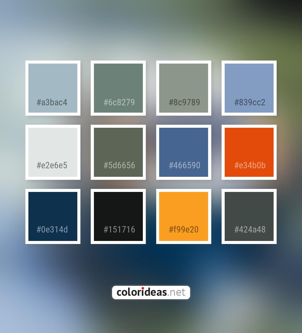 Cadet Blue Purple 5d6656 Siam Color Palette Color Palette Ideas