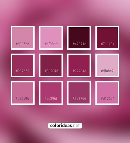 Plum Color Palette Ideas Part 2