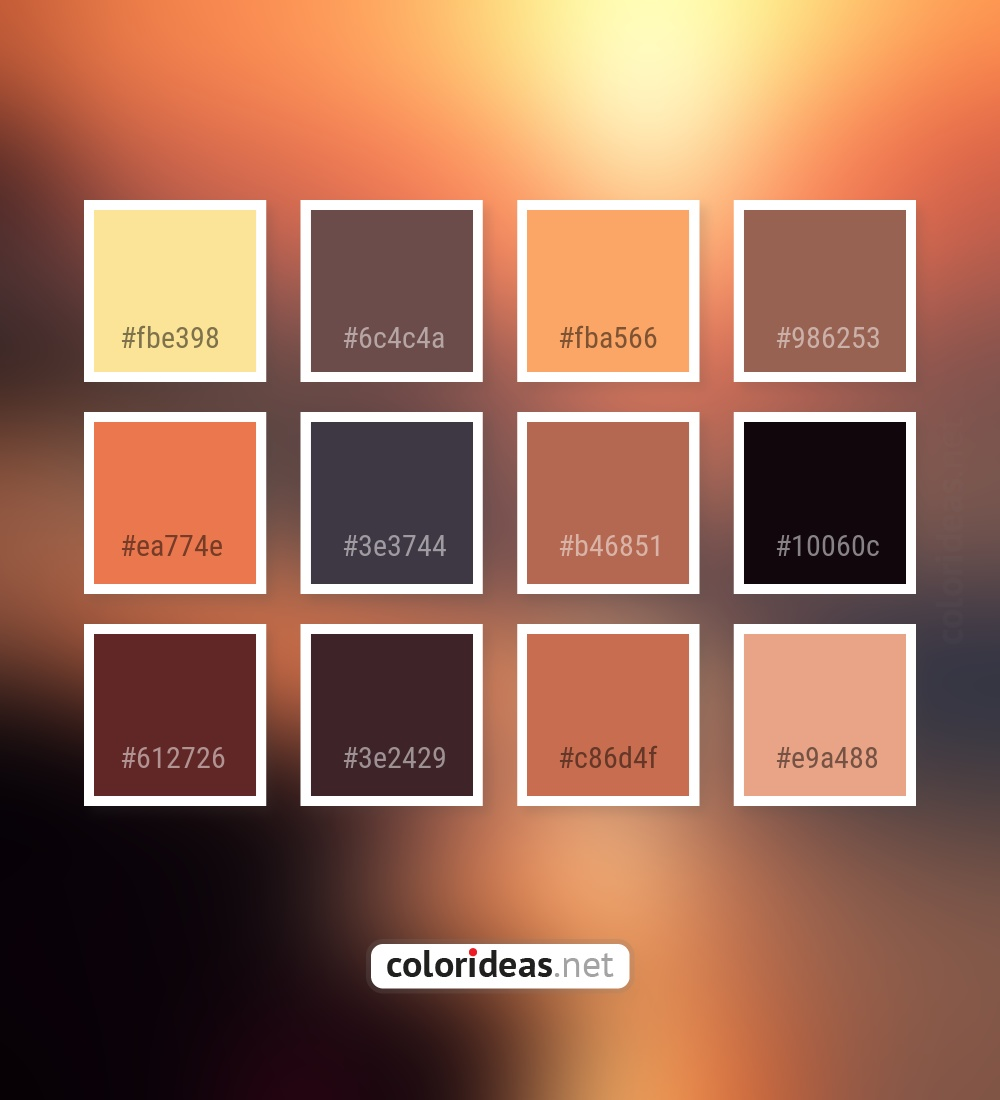 Cherokee Beige Ea774e Burnt Sienna Color Palette Color Palette Ideas Click on the color pickers to see how sienna looks against a secondary color. cherokee beige ea774e burnt sienna