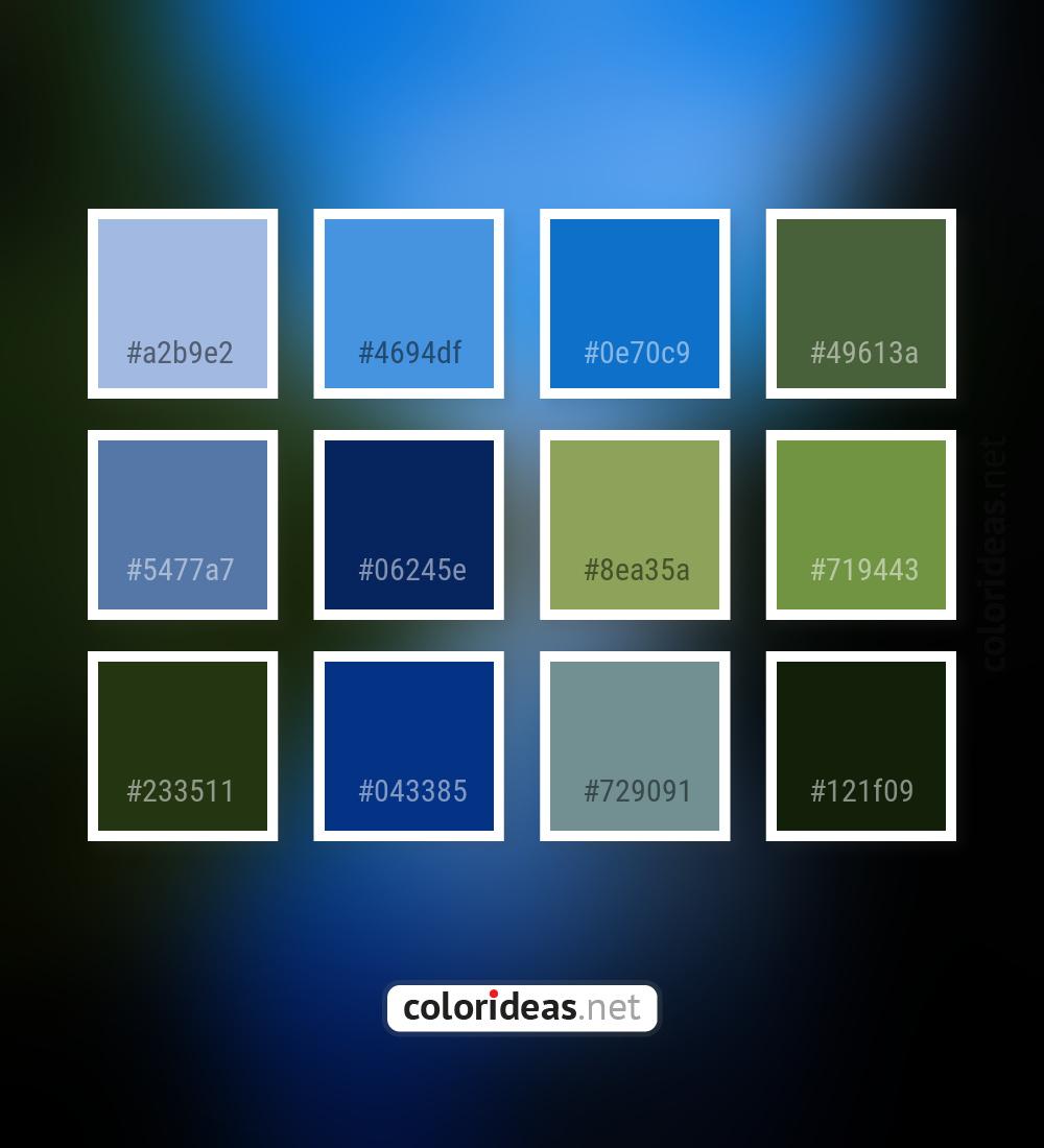 Regent St Blue Purple Wedgewood Gray Color Palette Color Palette Ideas