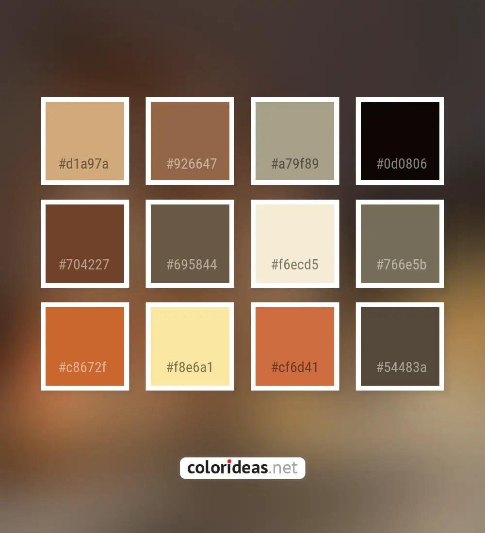 Tobacco Brown Color Palette Ideas
