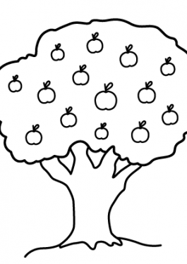 tree coloring pages archives  coloring 4kids com