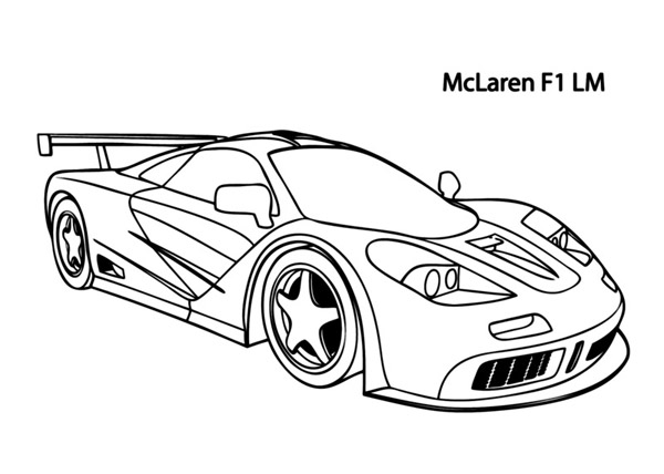Cars Coloring Pages For Kids Books