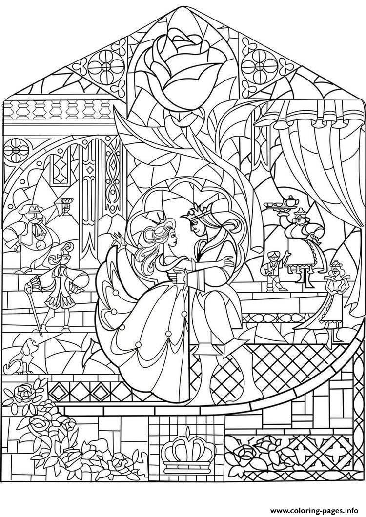 Adult Prince Princess Art Nouveau Style Coloring Pages ...   disney princess coloring pages for adults