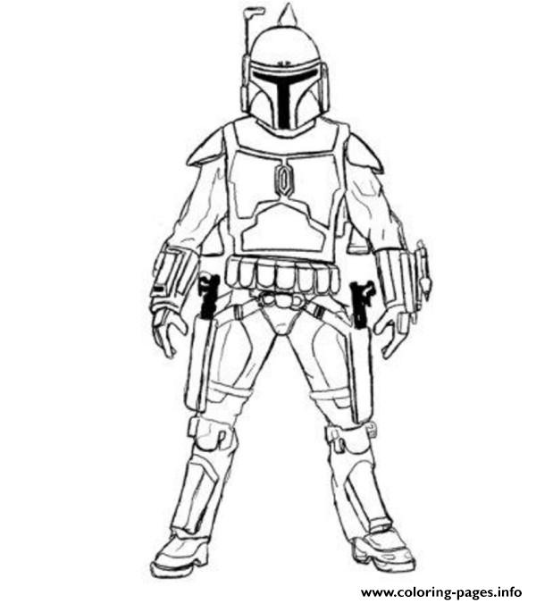 print easy boba fett star wars coloring pages free printable