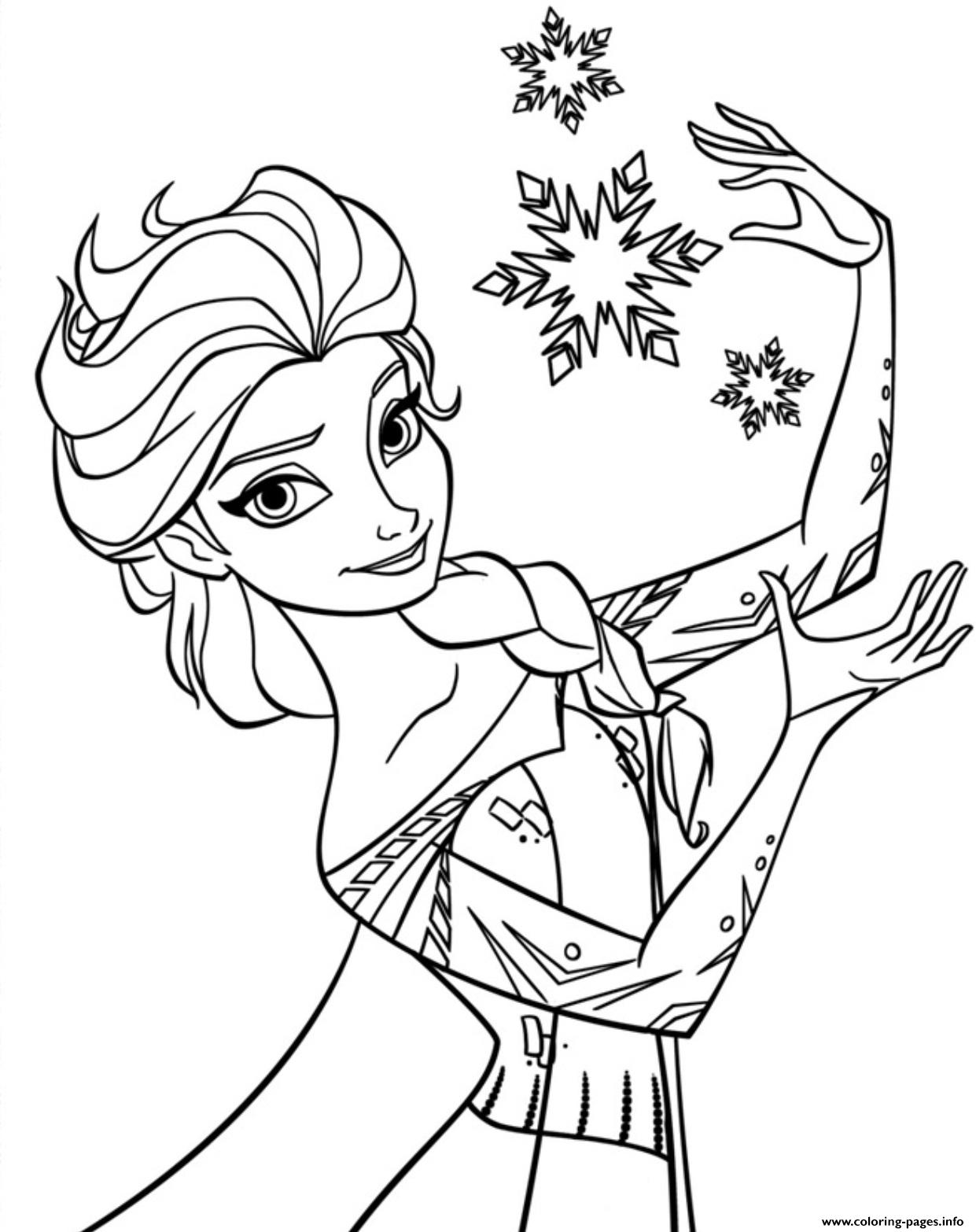 Printable Frozen 51b7 Coloring Pages Printable