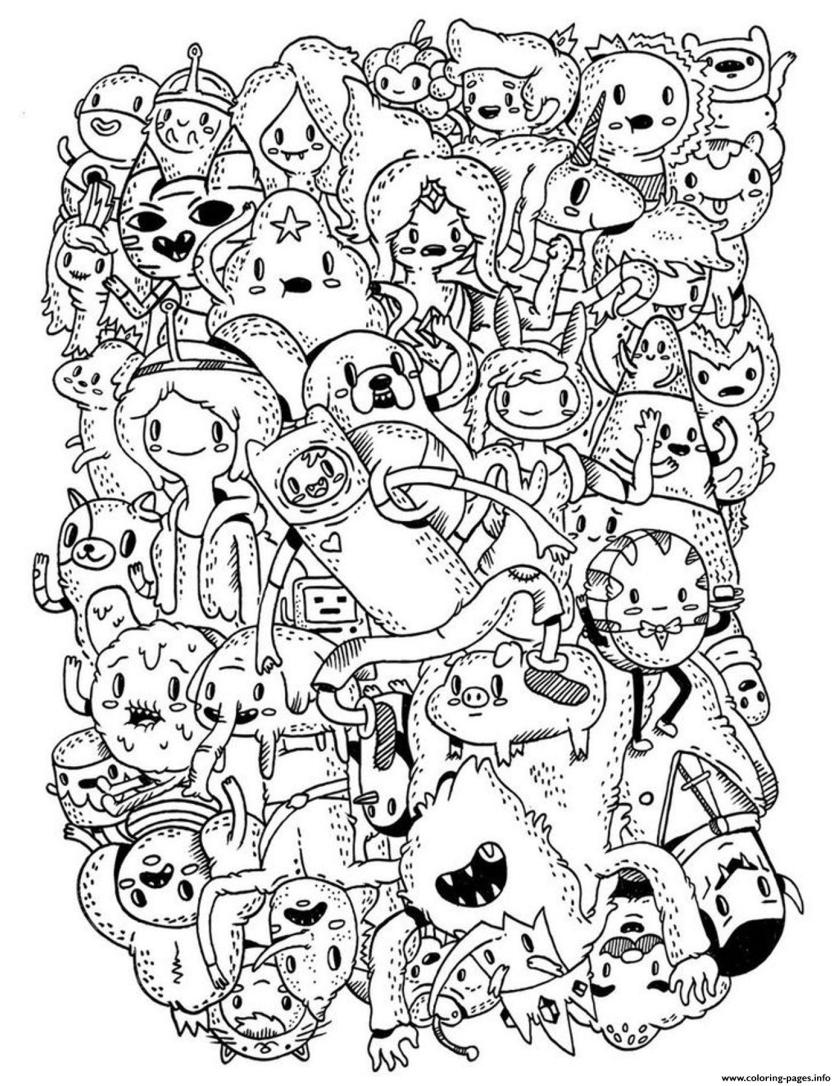 adventure time s for kids1bd7 coloring pages printable