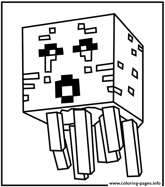 print minecraft water coloring pages free printable