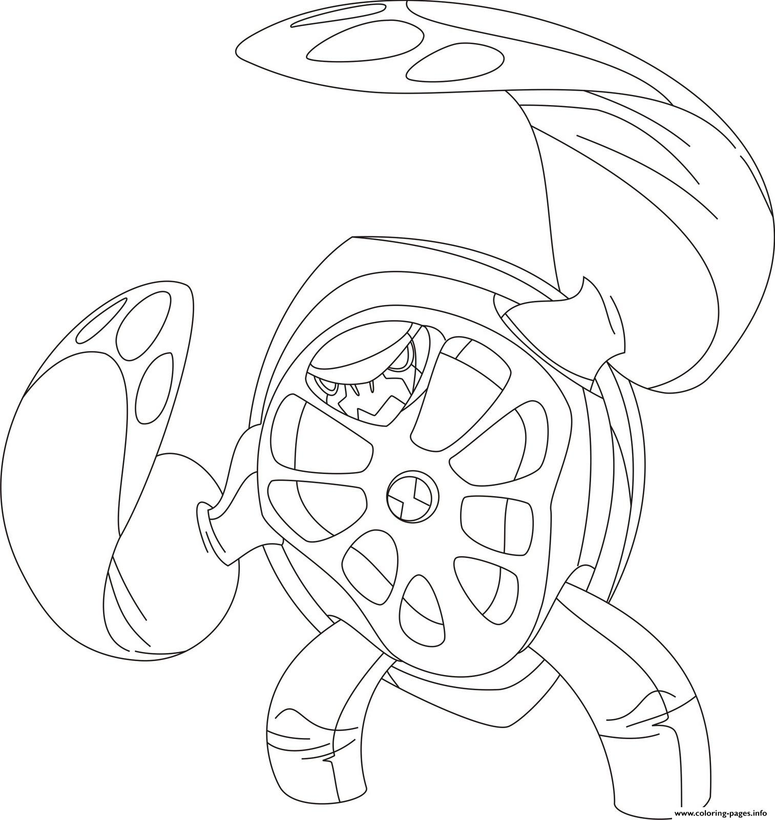 Dessin Ben 10 118 Coloring Pages Printable