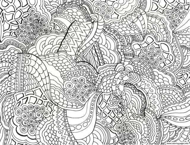 Grown Up Adults Coloring Pages Printable