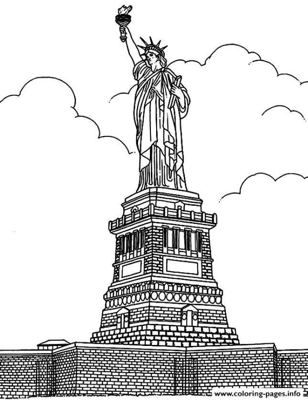 new york coloring pages # 9