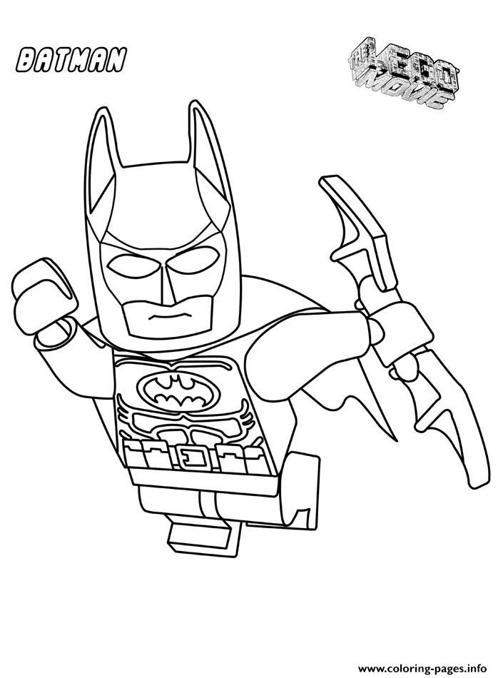print batman lego in the airs movie coloring pages free printable