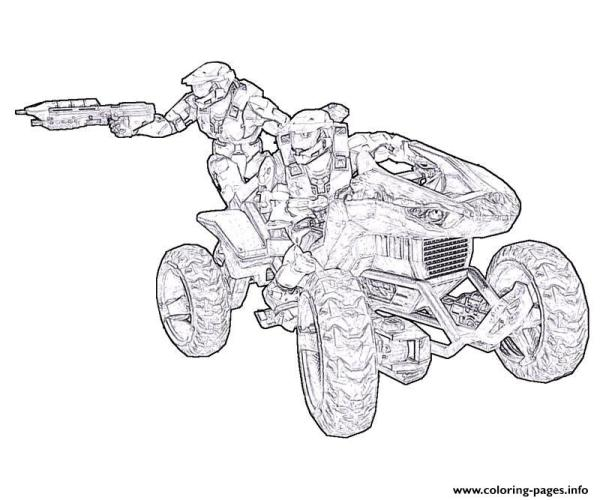 coloring pages halo # 46