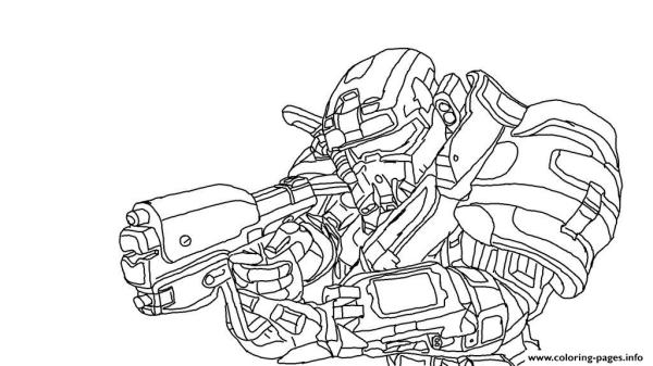 coloring pages halo # 6