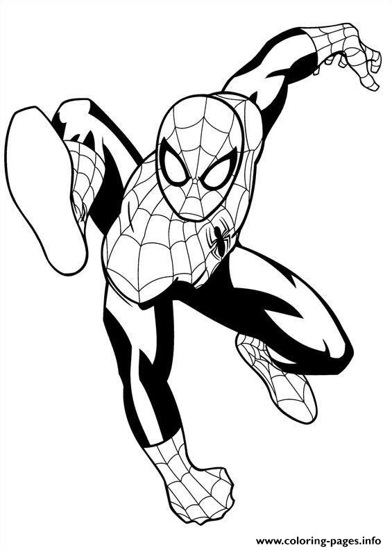 print ultimate spiderman 4 coloring pages free printable