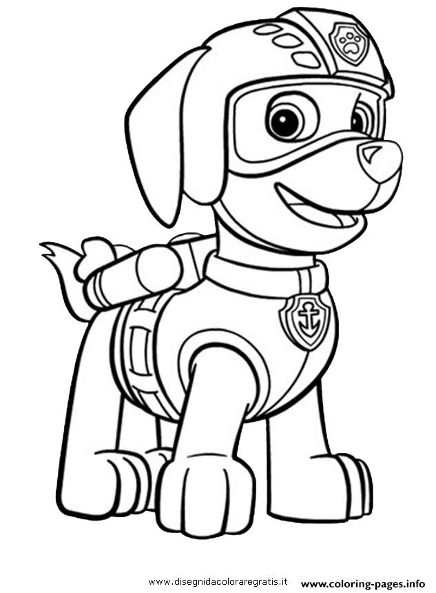 print paw patrol zuma ready to fly coloring pages free printable