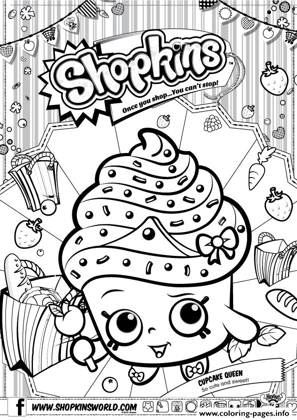 print shopkins cupcake queen free printable