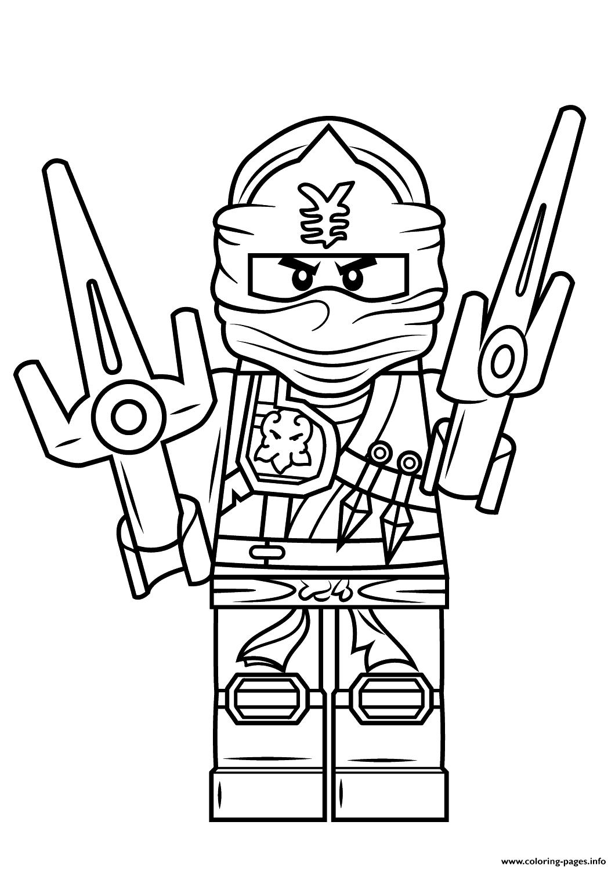 Lego Ninjago Coloring Printable Coloring Page