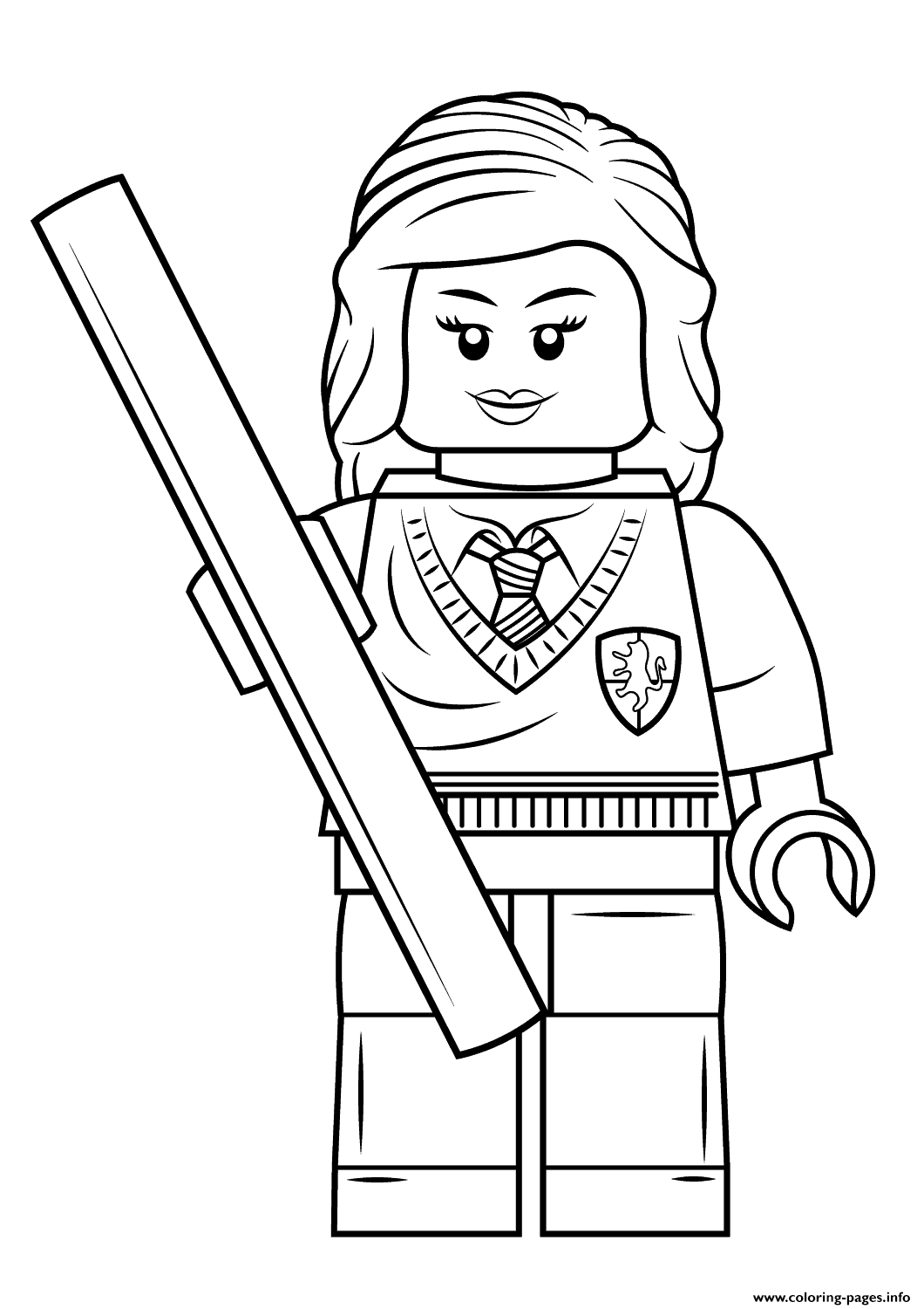 Coloring book pages info - Harry Potter Ginny Coloring Pages For Kids On Colors Of Pictures
