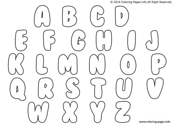 letters coloring pages # 21