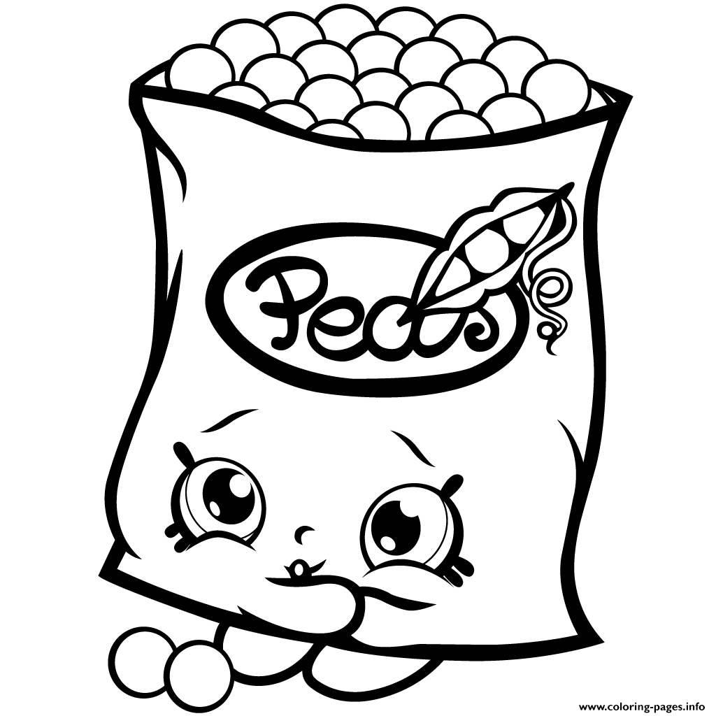 Coloring Pages Pea Printable