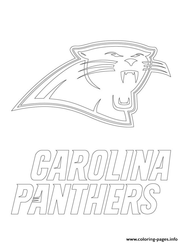 Nfl Panthers Coloring Pages Printable