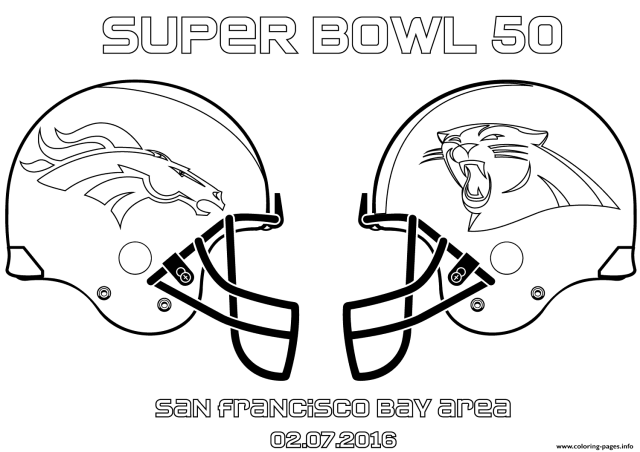 Super Bowl 23 Football Sport Coloring Pages Printable
