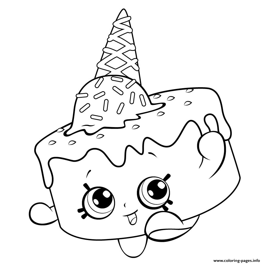 Shopkins Coloring Pages Free Printable Coloring Pages Coloring