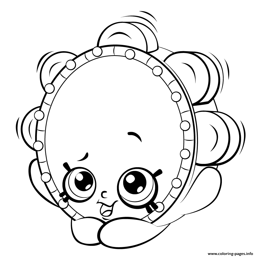 Shopkin Coloring Pages That You Can Print Coloring Pages