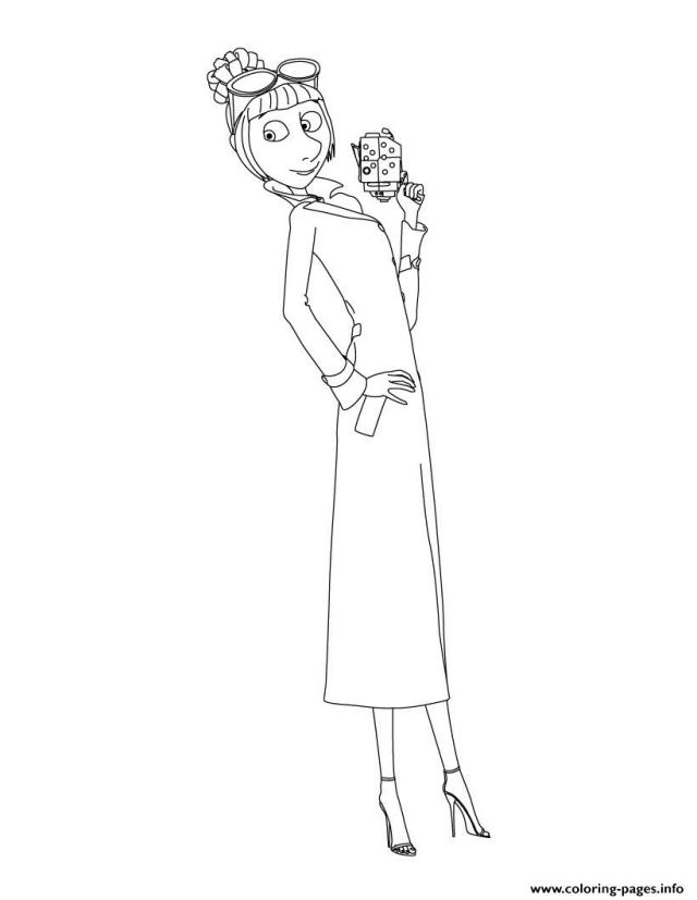 Despicable Me 30 Lucy Coloring Pages Printable
