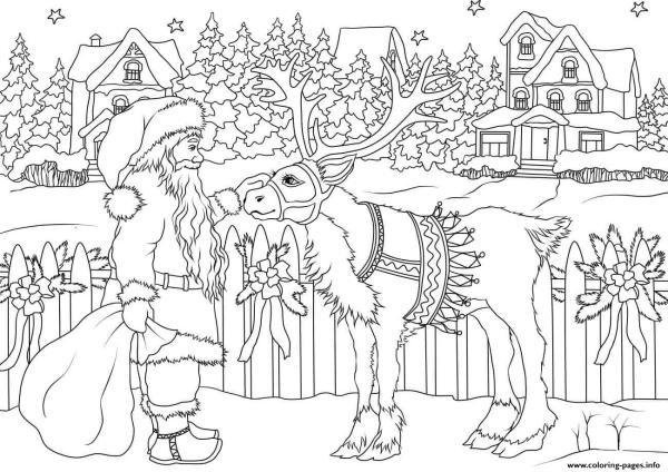 chrismas coloring pages # 24
