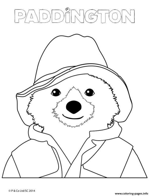 paddington bear coloring pages # 7