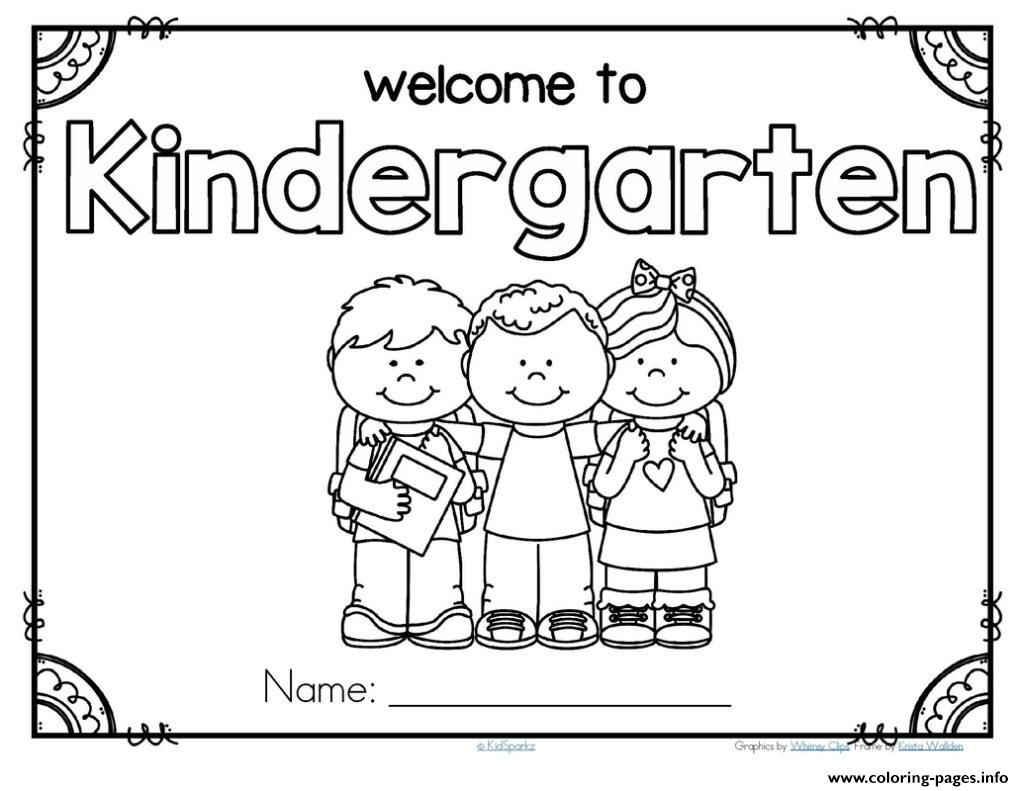 Back To School Preschool Theme Activities Kindergarten