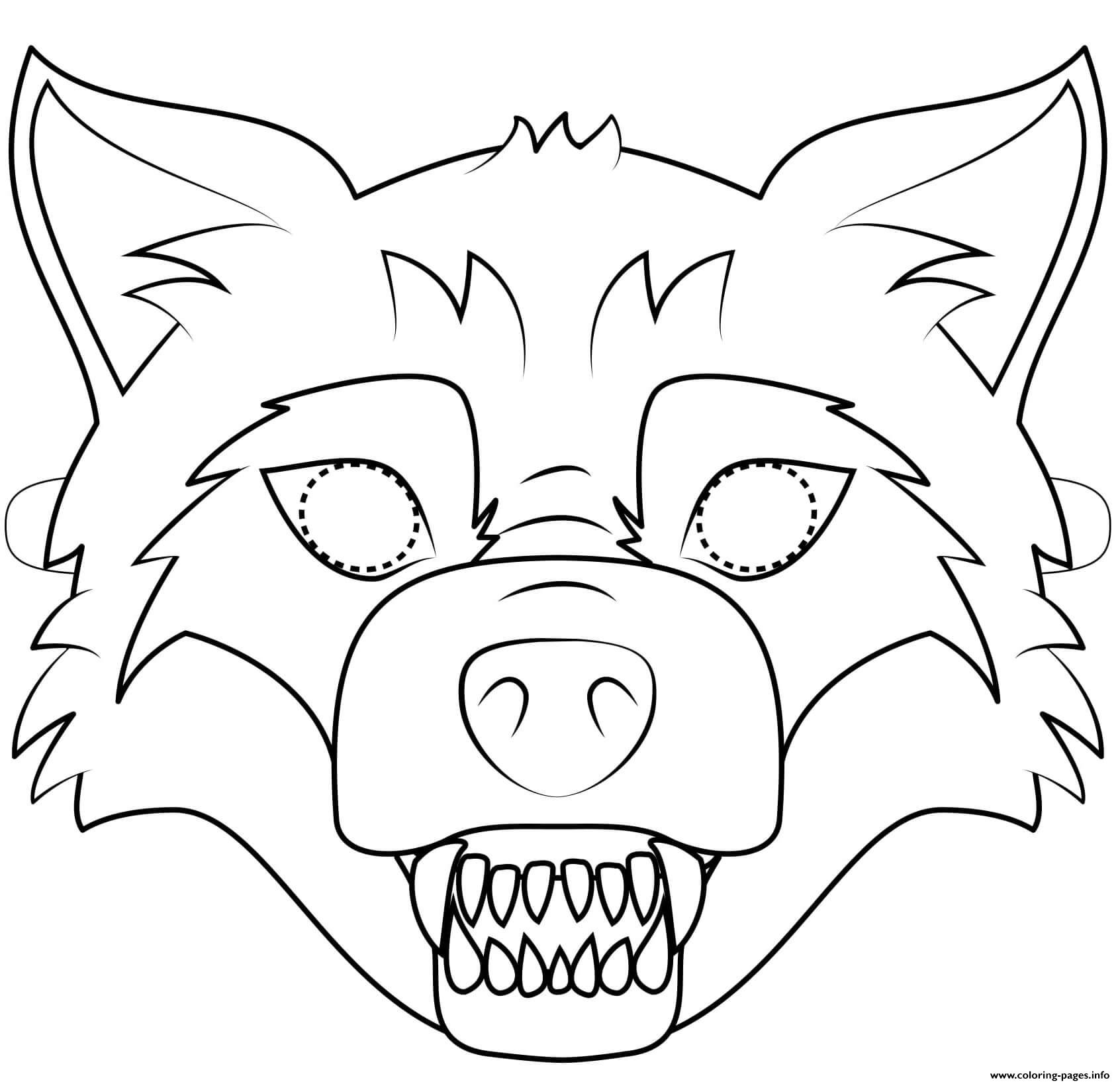 Big Bad Wolf Mask