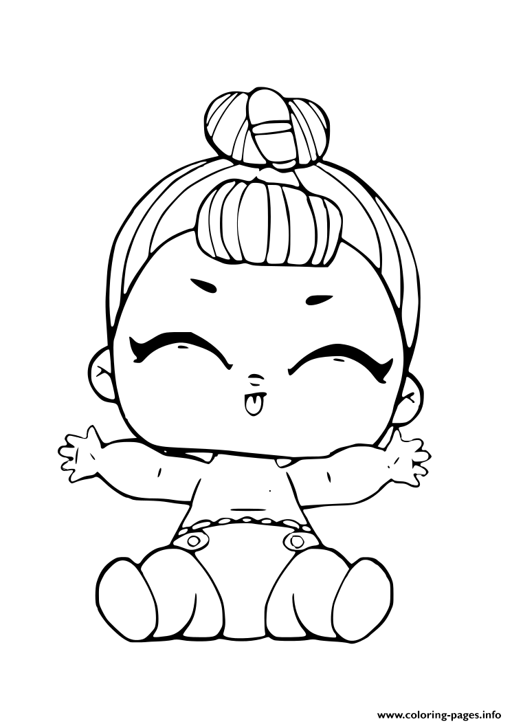 Free Printable Lol Surprise Doll Coloring Pages Printable Novocom Top