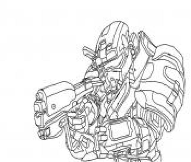 Halo Coloring Pages Free Printable