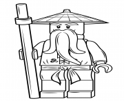 Download and Print These Latest LEGO Ninjago Coloring Pages | 148x180