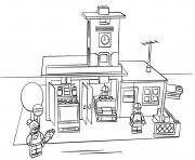 lego city coloring pages free printable