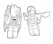 Lego Batman Coloring Pages Free Printable